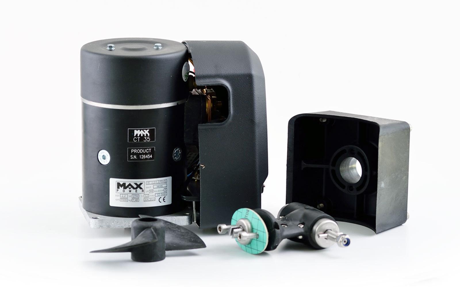Max Power 12V Bugstrahlruder CT 35 5 3,6 PS Elektroantrieb für 5 35 - 10 m MotorStiefel b3d6b8