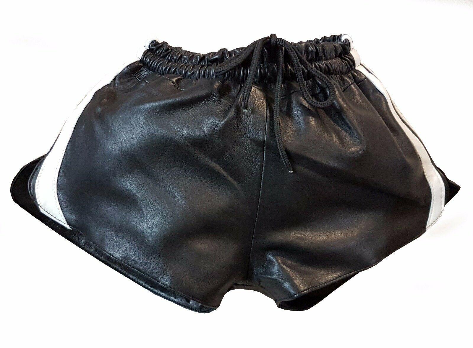 Leather Shorts with Elastic from lamb Nappa Us youth size 134363840