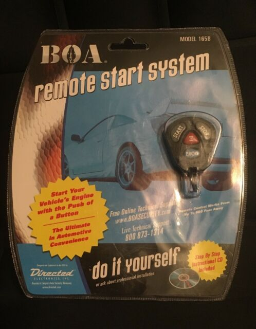 New Directed Electronics Boa Model 165b Remote Car Start