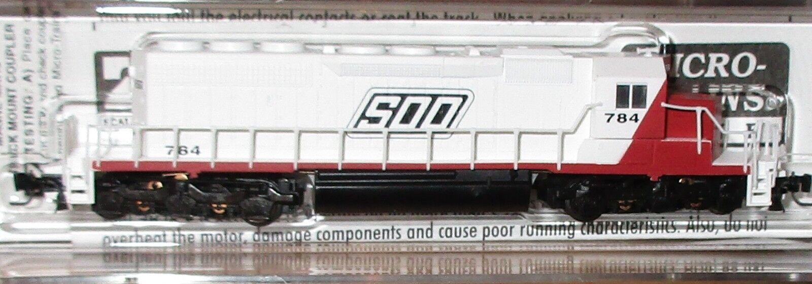 70% de descuento Escala Z Micro-Trains-SD40-2 ferrocarril línea línea línea Soo 784 - 97001170  lo último