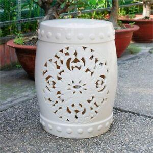 Peachy Details About Isfahani Ceramic Garden Stool Inzonedesignstudio Interior Chair Design Inzonedesignstudiocom
