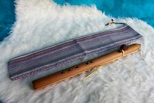 Native American Style 5 Agujero Flauta En Clave De F # Gratis Con Bolsa De Flauta
