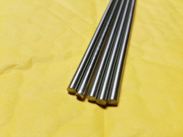 "Bar  Round 304     1 Pc  6/"" Long 1//8/""  Stainless Steel Rod"