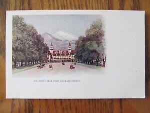 Vintage-Postcard-Pike-039-s-Peak-From-Colorado-Springs