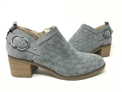 Sonoma Women/'s Tempera Zip Up Block Heel Ankle Boots Mush #066312 151E tk NEW