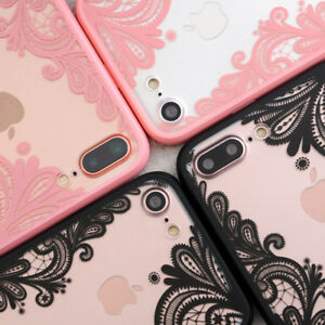 For-iPhone-8-Fashion-Case-Henna-Lace-Thin-Clear-Back-Cover-For-iPhone-7-Plus-6s