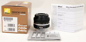 Nikon-Nikkor-50mm-f-1-4-039-SIC-039-AI-S-Manual-Focus-039-CRC-039-Lens-Brand-New-In-Box