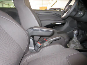 Armlehne Opel Adam Original schwarz Mittelarmlehne Kunstleder 39046849