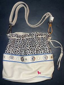 POODLEBAG-Shopper-Schultertasche-Umhaengetasche-Funkyline-Multicolor-EASY-blue