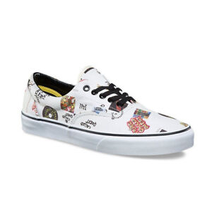 9309471a15 Vans Era A Tribe Called Quest Kids 3 White New ATCQ Skate Shoes ...