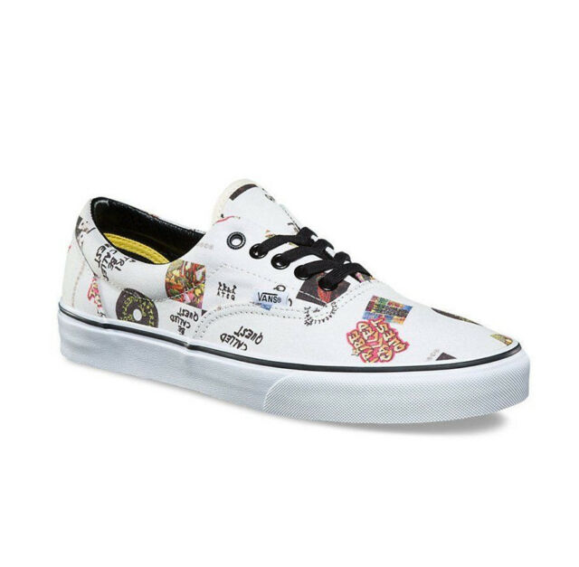 c9b1298c03f2ee VANS Era a Tribe Called Quest Kids 1 White ATCQ Skate Shoes SNEAKERS ...