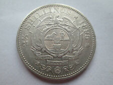 AEF SCARCE 1895 SOUTH AFRICA 2 1/2 SHILLINGS