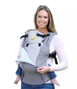 d7f868e00bd Lille Baby Complete 6-in-1 Airflow Breathable 3D Mesh Grey Silver ...