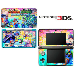 Details About Vinyl Skin Decal Cover For Nintendo 3ds Mario Luigi Dream Team