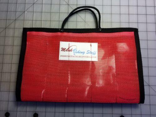 #39//20vinyl//mesh Kokanee Dodger Folding Jacket 20 Pockets 2 ¼ wide x 6 ½