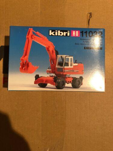 Spur H0 Kibri 11032 Bausatz Liebherr Mobilbagger Neu OVP