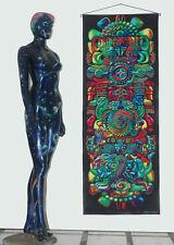 Backdrop Totem Wandbehang 1,7m x 0,65m Hippie Goa Tuch Psy Wandtuch Trance UV