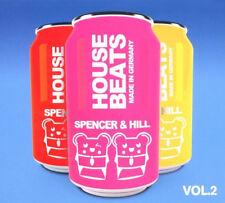 HOUSE BEATS 2 = Spencer & Hill = REMIXED/DJ MIX KONTOR =3CD= groovesDELUXE!
