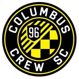 Columbus Crew SC USA MLS Soccer Decal Sticker Vehicle Window Laptop Wall