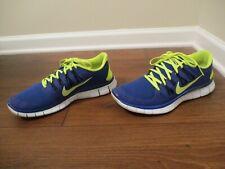 Nike 5.0 Volt HYPER Blue Black Mens Running 579959 740 for