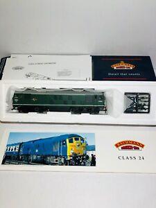 Bachmann-32-426-Class-24-Diesel-Plain-Br-Green-D5054