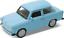 Trabant-601-reunidos-escala-1-34-metal-pull-back-original-Welly-puertas-para-abrir miniatura 3