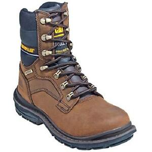 fc09cc762d5 CAT Caterpillar Flexion Generator Men's Work Boots Brown Steel ...