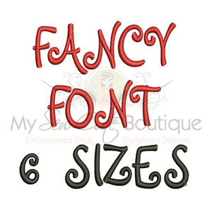 Embroidery Machine Fonts Machine Embroidery Designs 6 Sizes Impfcd25 Ebay