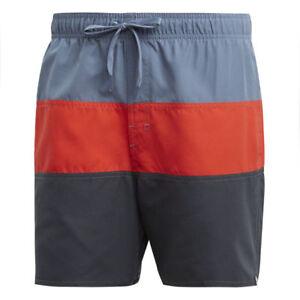 Details zu adidas Herren Color Block SH Short SL Badeshort Badehose CV5176