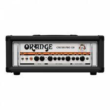 Orange Crush Pro Cr120h Black 120w Guitar Amp Head W/cables Plus Foot Switch