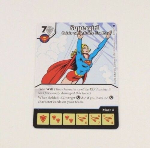 DC Dice Masters World/'s Finest OP Promo Prize Card SUPERGIRL