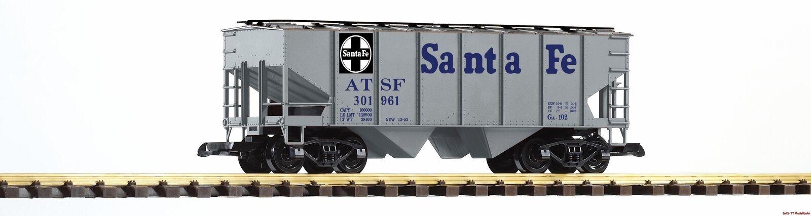 G ammassare carrello SF Santa Fe Railroad Grigio Piko 38835