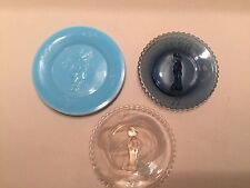 MOSSER GLASS BALLOON CLOWN CUP PLATE-CHOICE OF COLORS PRICE REDUCED!!
