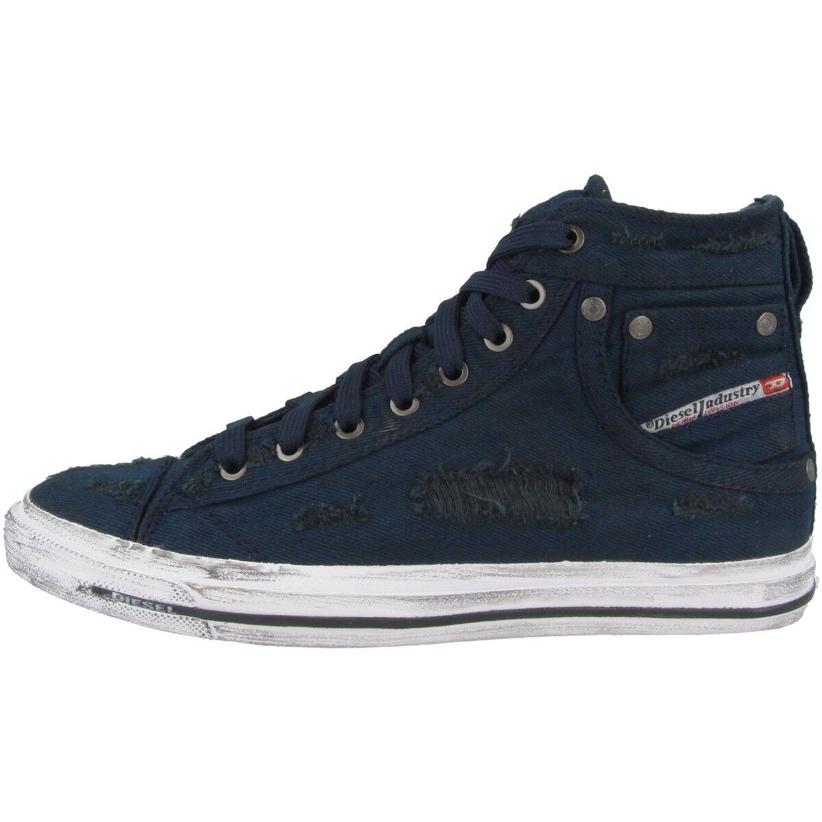 Diesel Exposure I Schuhe High High High Top Freizeit Sneaker Blau Y00023-P1728-T6065 5bcae3