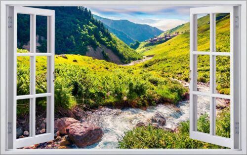 Landscape Nature Mountain Mountains Wall Tattoo Wall Sticker Wall Sticker f1325