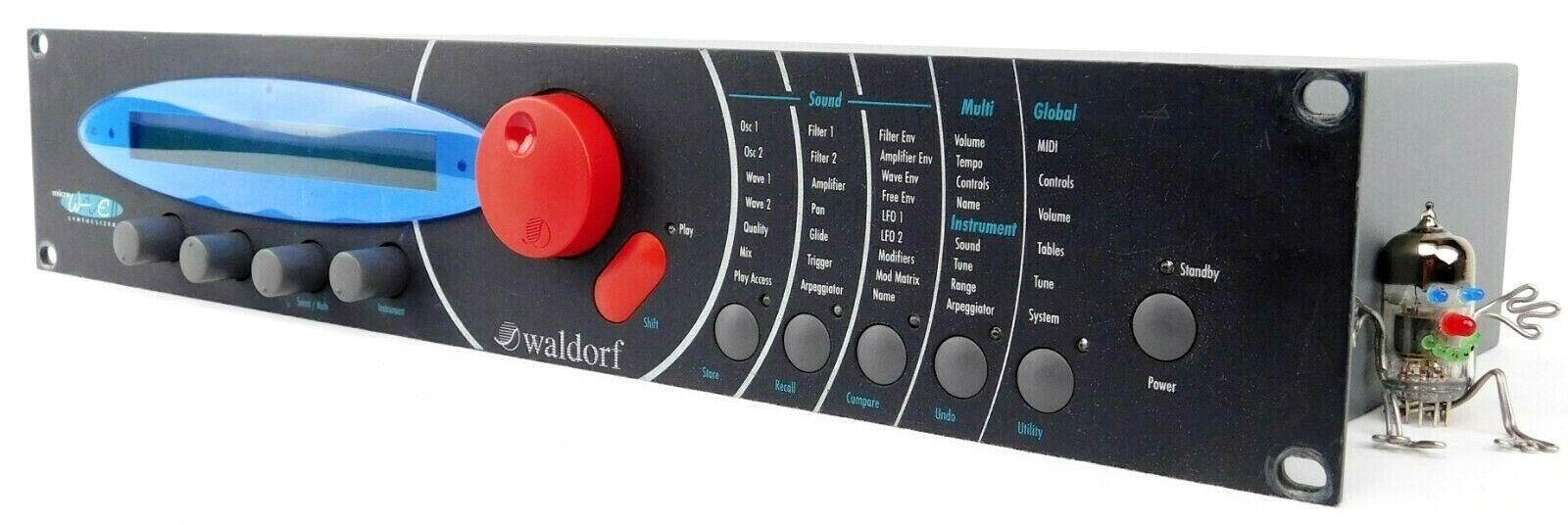 Waldorf Microwave 2 II SyntheGrößer BRUTAL GERMAN SYNTH sehr gut 1.5J. Garantie