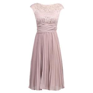 Bleu Marine 1940 S style vintage mousseline dentelle Cocktail Prom demoiselles d/'honneur robe