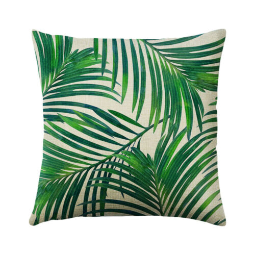 Tropical Theme Home Throw Pillow Case Bedroom Decoration Cushion Cover 45*45cm