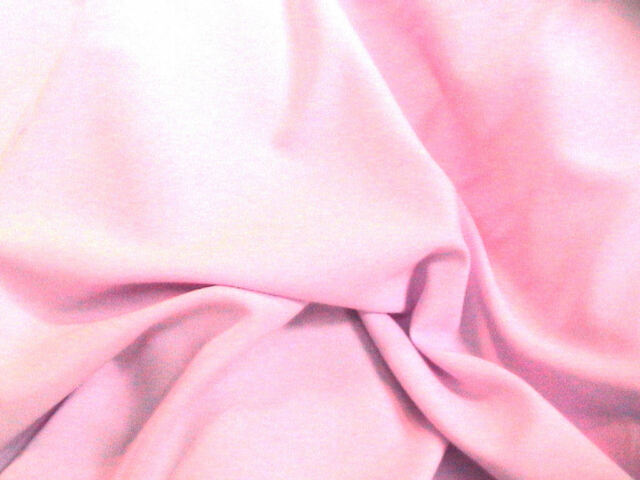 Lt Pink Bi - Stretch Polyester Suiting Dress Fabric 150cm Wide SOLD BY THE METRE