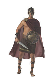 Image is loading Spartan-Warrior-300-Gladiator-Adult-Men-Costume  sc 1 st  eBay & Spartan Warrior 300 Gladiator Adult Men Costume | eBay