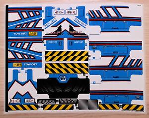 LEGO-Technic-Aufkleber-Aufkleberbogen-Sticker-42070-Allrad-Abschleppwagen-NEU