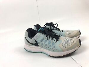 Details about Nike Air Zoom Pegasus 31 Women's Shoes Size 8.5 Light Blue Running 654486 105