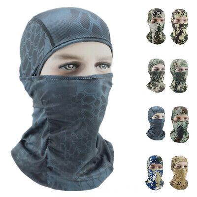 Ultra Thin Motorcycle Mask UV Protection Cycling Ski Full Face Mask Balaclava