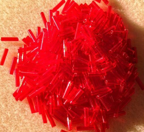 20gms 9mm de color Bugle Cuentas Matsuno 7-transparentes escarlata