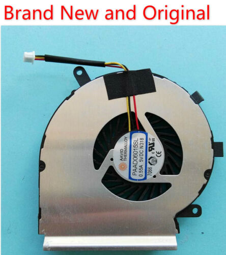 New for MSI GE72 GE62 PE60 PE70 GL62 GL72 cooling fan Cooler PAAD06015SL N318