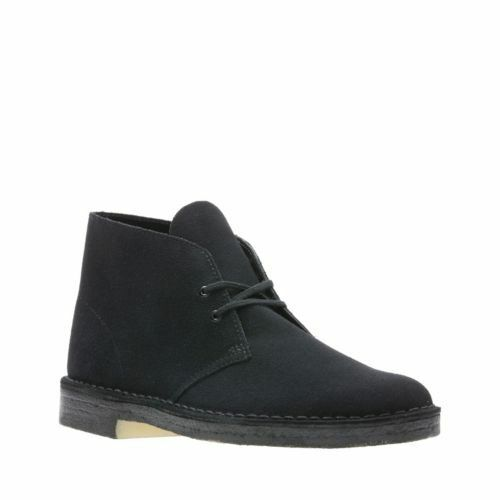 9.5 Desert Boot Black Suede 38227