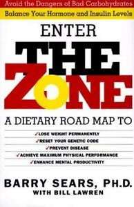 The-Zone-by-Barry-Sears-Bill-Lawren-1995-Hardcover