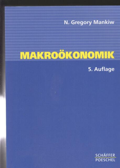 Makroökonomik von N. Gregory Mankiw (2003, Taschenbuch)