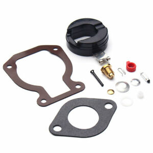 Carburetor-Carb-Rebuild-Kit-with-Float-for-Johnson-Evinrude-398453-4-15-hp-New