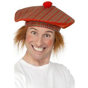 727891fe90985 Tam-O-Shanter Hat Novelty Scottish Comedy Fun Men's Fancy Dress ...
